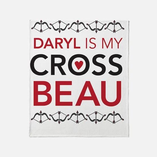 Daryl is my Cross Beau Throw Blanket