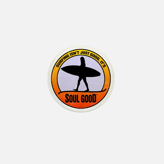 Surfer Girl - Soul Good Mini Button