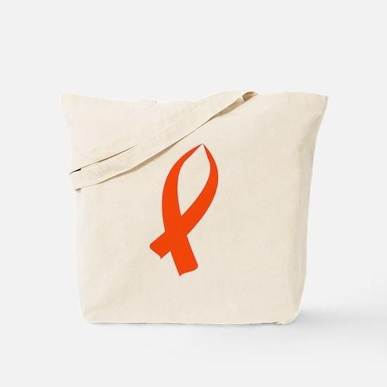 Awareness Ribbon (Orange) Tote Bag