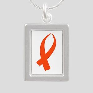 Awareness Ribbon (Orange) Necklaces