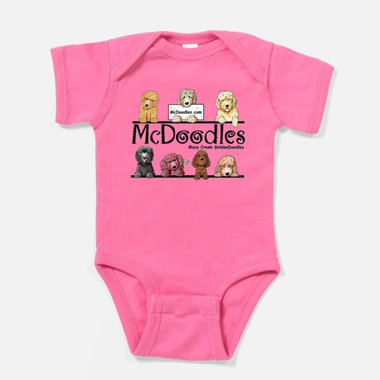 McDoodles Logo Baby Bodysuit