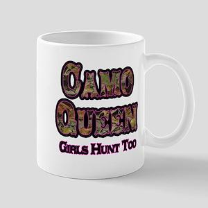 Camo Queen- Girls Hunt Too Pink Mugs