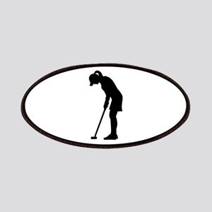 Golf woman girl Patches