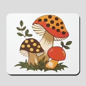 Merry Mushroom Mousepad