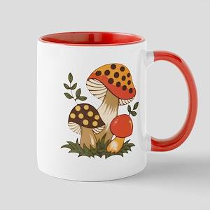 Merry Mushroom Mugs