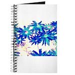 Blue flowers Journal