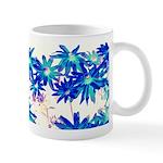 Blue flowers Mugs