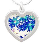 Blue flowers Necklaces
