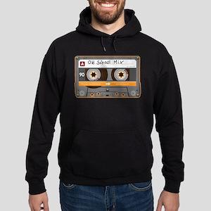 Old School Mix Cassette Tape Hoodie