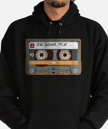 Old School Mix Cassette Tape Hoodie
