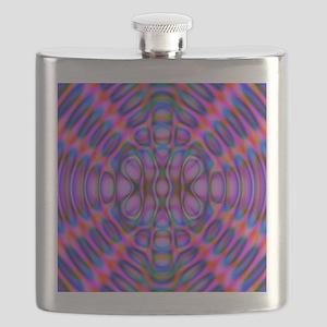 Diffraction Pattern Purple Flask