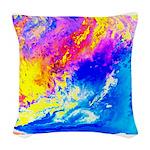 Beautiful weather Woven Throw Pillow