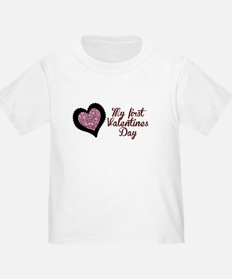 My first Valentines Day T-Shirt