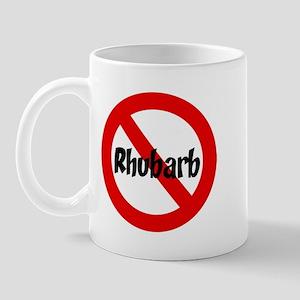 Anti Rhubarb Mug