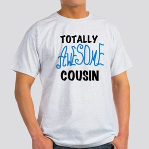 Blue Awesome Cousin Light T-Shirt