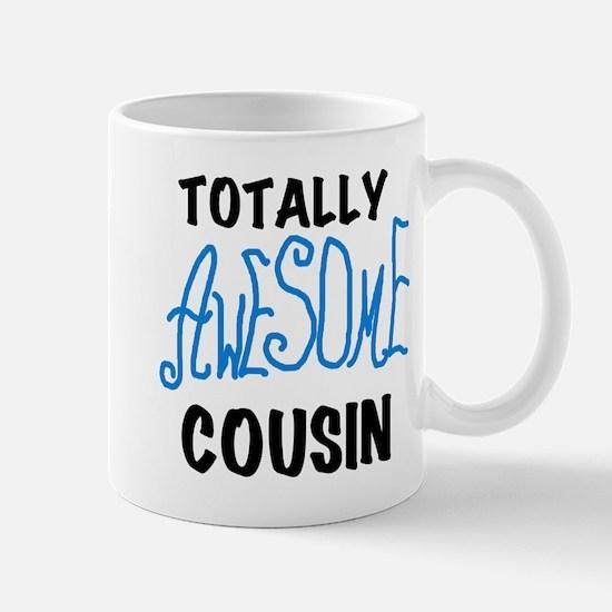 Blue Awesome Cousin Mug
