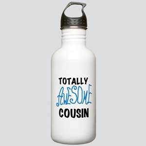 Blue Awesome Cousin Stainless Water Bottle 1.0L