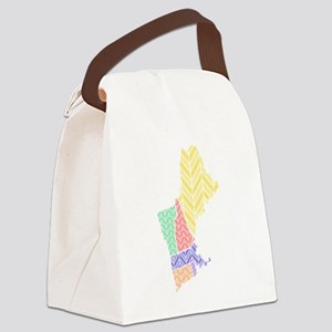 New England Canvas Lunch Bag