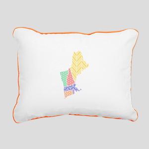 New England Rectangular Canvas Pillow