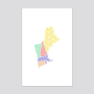 New England Mini Poster Print