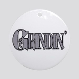 Grindin' Ornament (Round)
