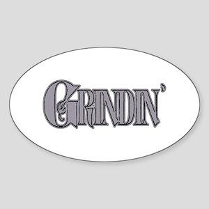 Grindin' Sticker