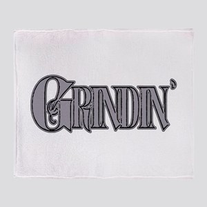 Grindin' Throw Blanket
