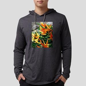 Brilliant Colors Pepper Plant Long Sleeve T-Shirt