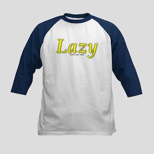 Lazy Logo Kids Baseball Jersey