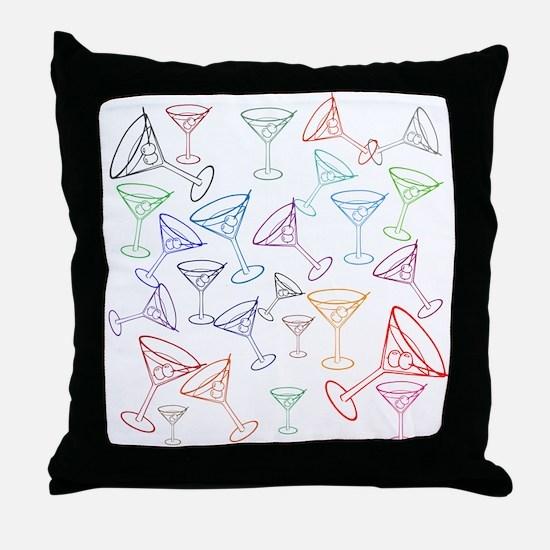 Happy Hour! Throw Pillow