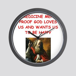 medicine,man Wall Clock