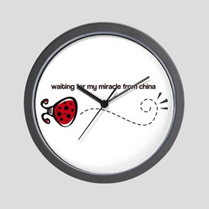 Waiting for my Miracle Wall Clock