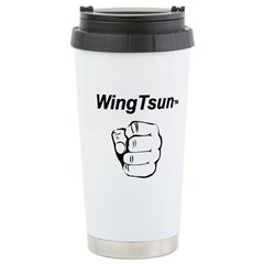 Wing Tsun Stainless Steel Travel Mug