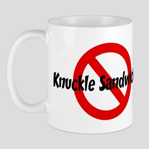 Anti Knuckle Sandwiches Mug