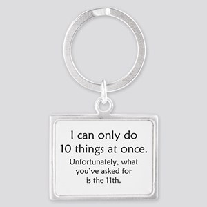 Ten Things At Once Landscape Keychain