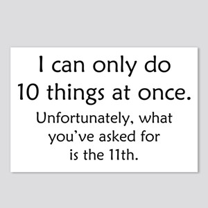 Ten Things At Once Postcards (Package of 8)