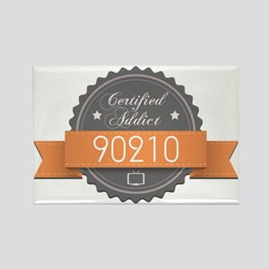 Certified Addict: 90210 Rectangle Magnet