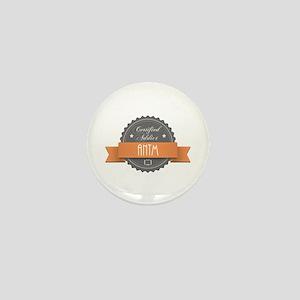 Certified Addict: ANTM Mini Button