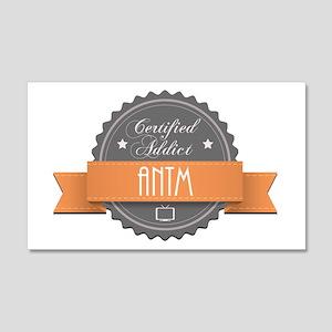 Certified Addict: ANTM 22x14 Wall Peel