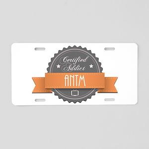 Certified Addict: ANTM Aluminum License Plate
