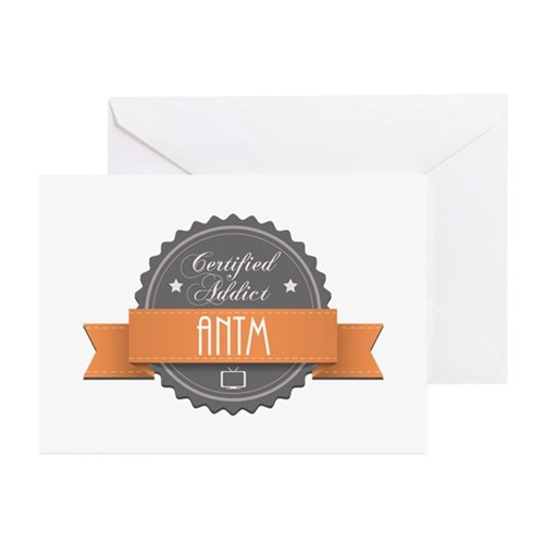 Certified Addict: ANTM Greeting Cards (10 pack)