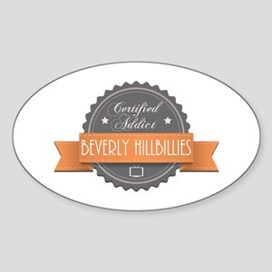 Certified Addict: Beverly Hillbillies Oval Sticker