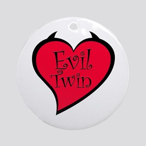 Evil Twin Ornament (Round)