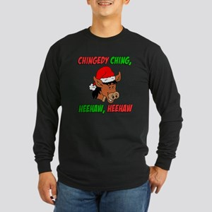 Italian Donkey Long Sleeve Dark T-Shirt