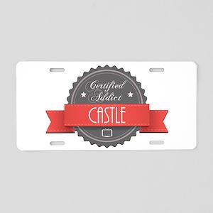 Certified Addict: Castle Aluminum License Plate