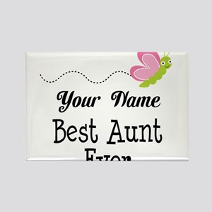 Personalized Best Aunt Magnets