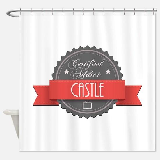 Certified Addict: Castle Shower Curtain