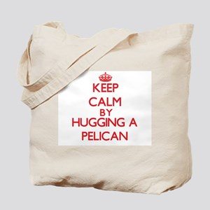 Keep calm by hugging a Pelican Tote Bag