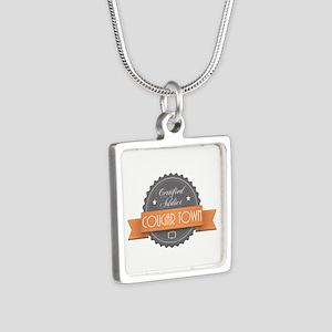 Certified Addict: Cougar Town Silver Square Neckla