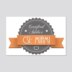 Certified Addict: CSI: Miami Mini Poster Print